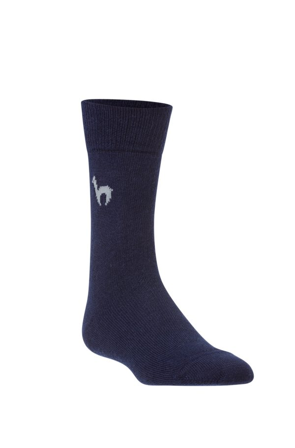 Businesssocken-blau