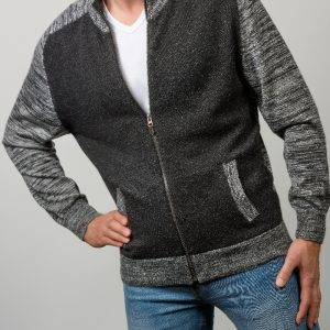 Mens-Jacket-Cesar-grau