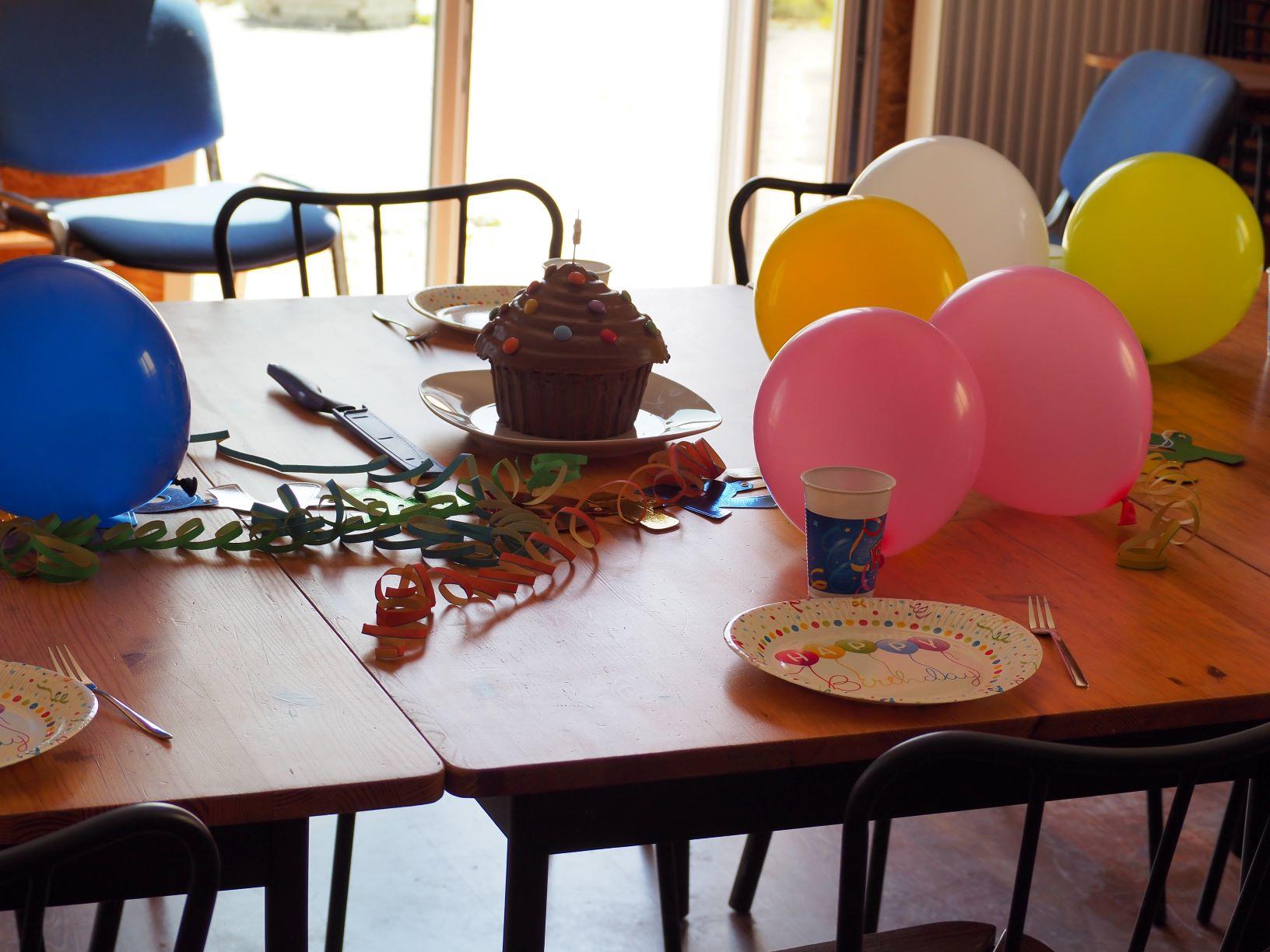 Kindergeburtstag mit Torte