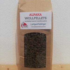 Alpaka Wollpellets